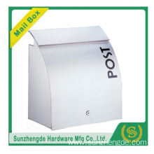 SMB-012SS Modern Looking Beautiful Wall Mounted Powder Coating Group Mailbox